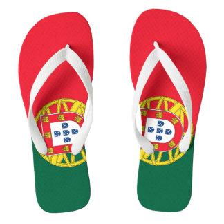 Portugal flag quality flip flops