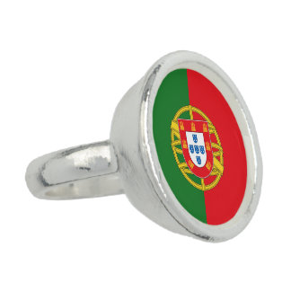 Portugal Flag Ring