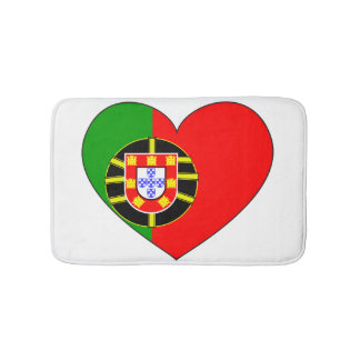 Portugal Flag Simple Bath Mat