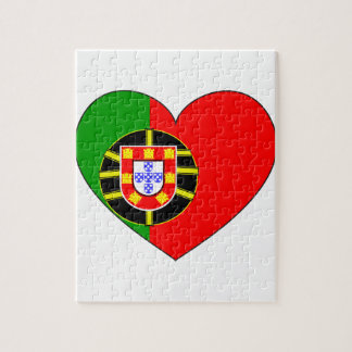 Portugal Flag Simple Jigsaw Puzzle