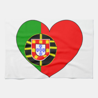 Portugal Flag Simple Kitchen Towel
