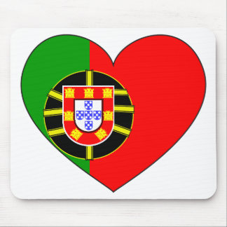 Portugal Flag Simple Mouse Pad