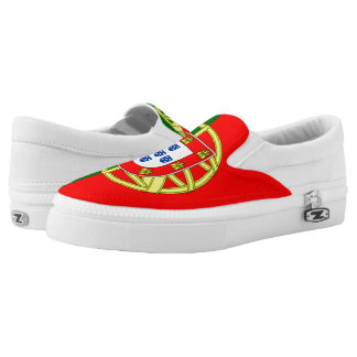 Portugal Flag Slip On Shoes
