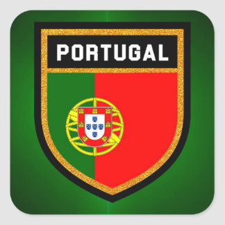 Portugal Flag Square Sticker