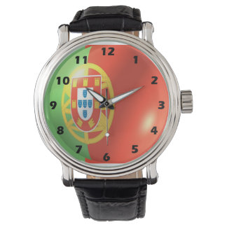 Portugal Flag Wristwatch