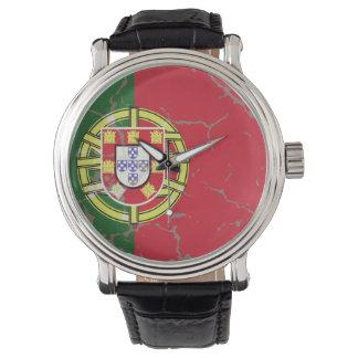 Portugal Flag Wristwatch