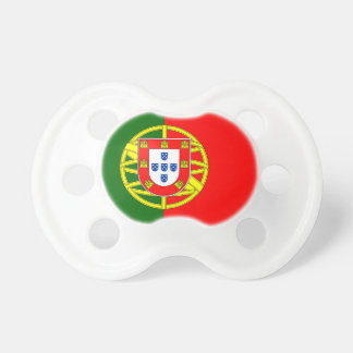 Portugal flage design baby pacifier