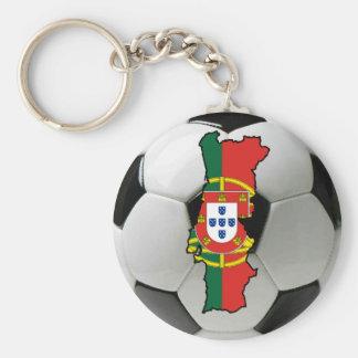 Portugal futebol basic round button keychain