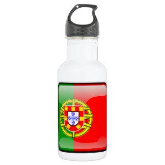 Portugal glossy flag