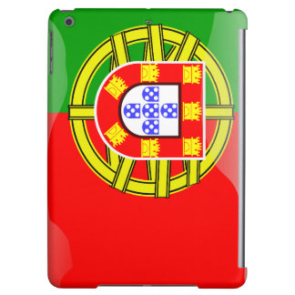 Portugal glossy flag case for iPad air