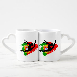 Portugal Gymnast Coffee Mug Set