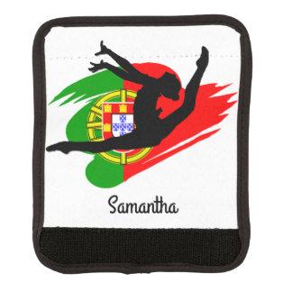 Portugal Gymnast Luggage Handle Wrap
