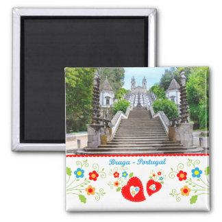 Portugal in photos - Braga Square Magnet