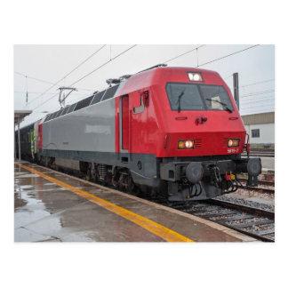 Portugal: Intercity with el. locomotive 5618 Postcard