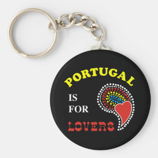 Portugal Is For Lovers Keychain