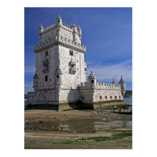Portugal, Lisbon. Belem Tower, a UNESCO World Postcard