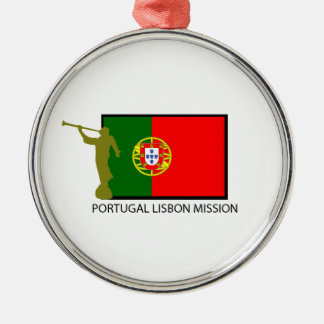 PORTUGAL LISBON MISSION LDS CTR METAL ORNAMENT