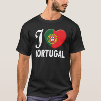 Portugal Love W T-Shirt