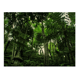 Portugal Madeira : Canopy of Lushness Postcard