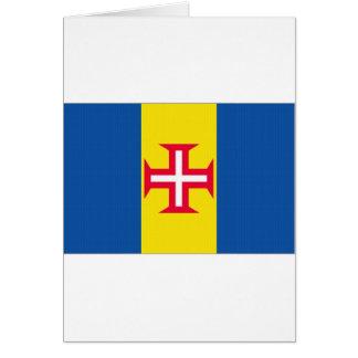 Portugal Madeira Flag Greeting Card