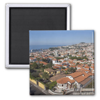 Portugal, Madeira Island, Funchal. Cable car Magnet