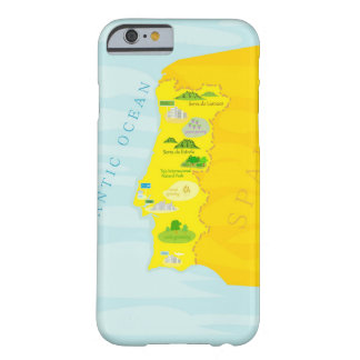 Portugal map barely there iPhone 6 case