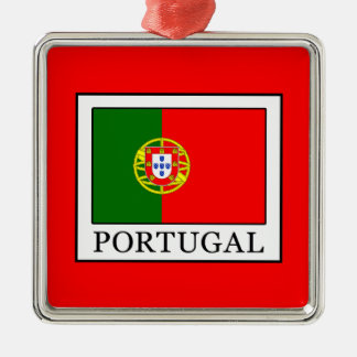 Portugal Metal Ornament
