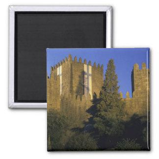 Portugal, Minho, Guimaraes. Castelo de Sao Magnet