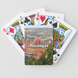 Portugal: Monserrate Palace, near Sintra Bicycle Playing Cards