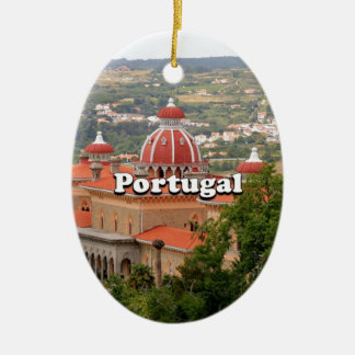 Portugal: Monserrate Palace, near Sintra Ceramic Ornament