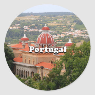 Portugal: Monserrate Palace, near Sintra Classic Round Sticker