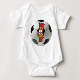 Portugal national team baby bodysuit