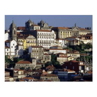 Portugal, Oporto (Porto). Historic houses and Postcard