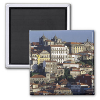 Portugal, Oporto (Porto). Historic houses and Square Magnet