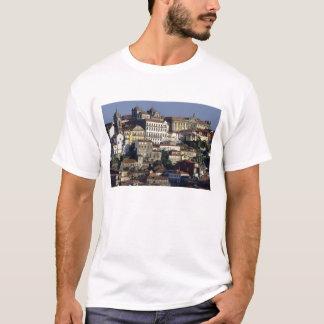 Portugal, Oporto (Porto). Historic houses and T-Shirt