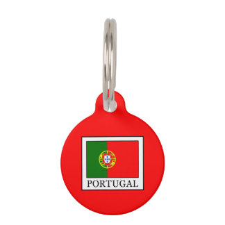 Portugal Pet Name Tag