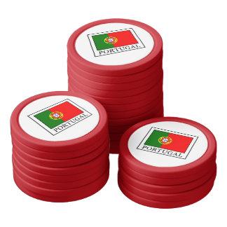 Portugal Poker Chips