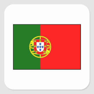 Portugal - Portuguese Flag Square Sticker