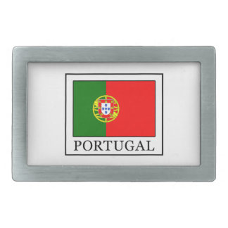 Portugal Rectangular Belt Buckle