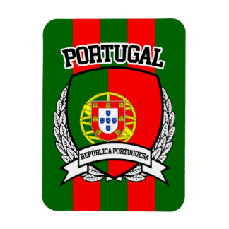 Portugal Rectangular Photo Magnet