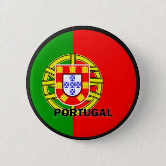 Portugal Roundel quality Flag 2 Inch Round Button