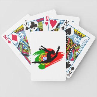 Portugal Rythmic Gymnast Bicycle Playing Cards