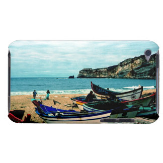 Portugal Seaside IV - Colourful Boats on the Beach iPod Touch Case-Mate Case