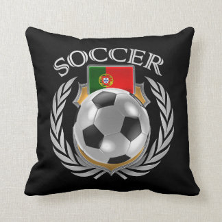 Portugal Soccer 2016 Fan Gear Throw Pillow