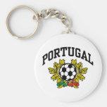 Portugal Soccer Key Chain