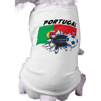 Portugal Soccer Swag Pet Tee Shirt