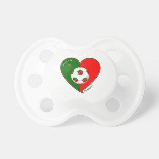 """PORTUGAL"" Soccer Team. Portuguese soccer 2014 Pacifier"