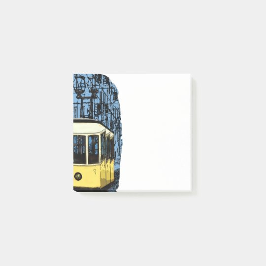 Portugal Tram Post-it Notes