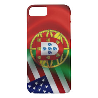 Portugal/USA Flag Iphone iPhone 8/7 Case