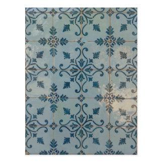 Portugal Vintage Mosaics Postcard